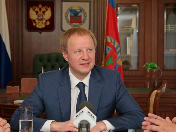 Губернатор Алтайского края перешел на удаленный режим работы