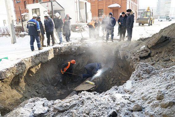 До 20:00 будет отключена вода в поселке Химиков