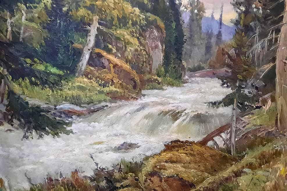 Первый на Алтае в Союзе художников СССР