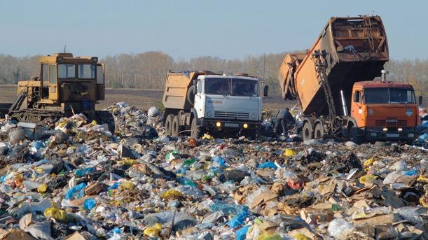 Бийский полигон отказывается принимать отходы из частного сектора