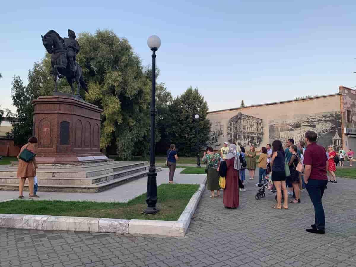 Опубликована программа «Прогулок по старому городу» 5 сентября