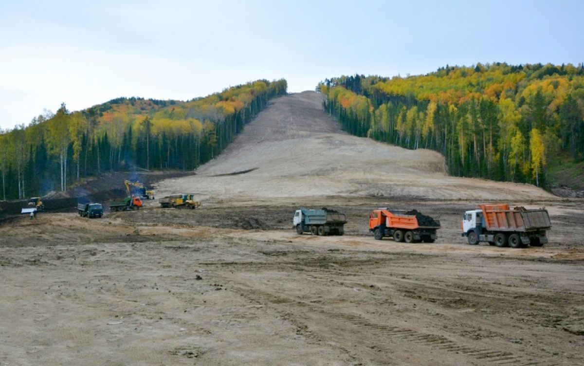 К Олимпиаде готовы: завершено обустройство лыжно-биатлонного комплекса в Белокурихе-2
