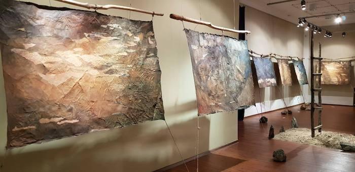В Выставочном зале начала работу выставка «Интроспектива 55»