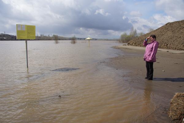 В алтайских реках продолжает прибывать вода