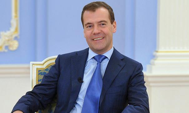 Премьер-министр Дмитрий Медведев прилетит в Барнаул 12 ноября