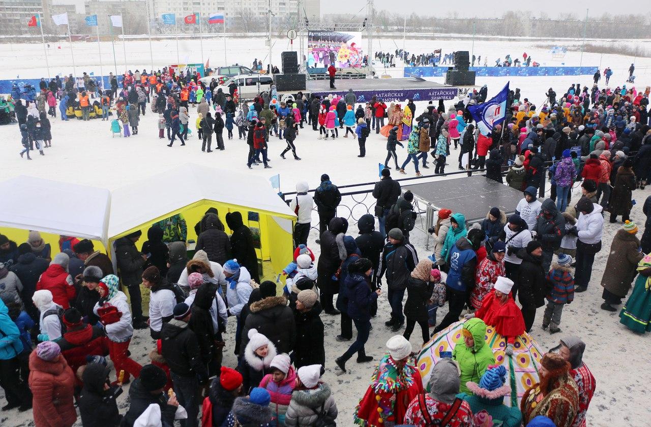«Алтайская зимовка» перебазируется на «Бирюзовую Катунь»
