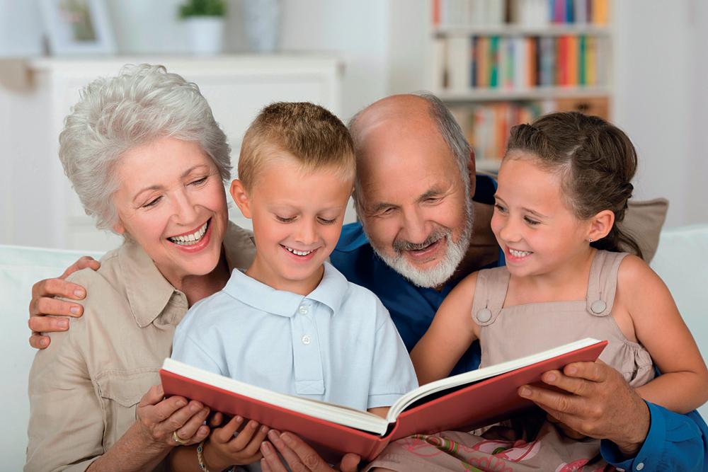 Детям, внукам и себе