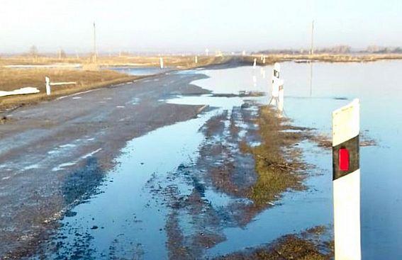 В Алтайском крае восстановлено движение на двух трассах, ранее перекрытых из-за паводка