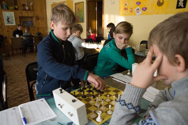 Шахматисты Бийского лицея-интерната выступили в финале первенства Всероссийского клуба «Белая ладья»