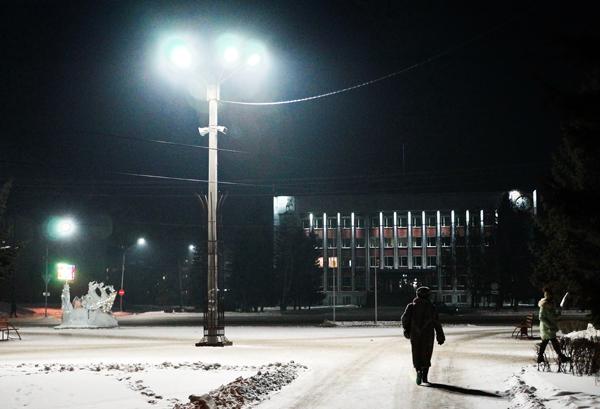 В Алтайский край вновь пришли морозы