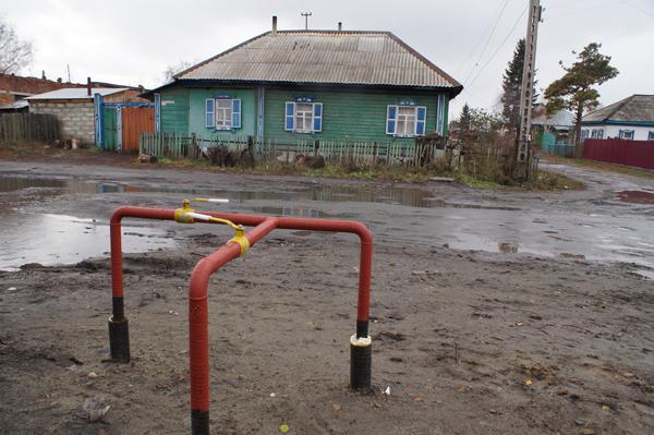 Сегодня в двух районах Заречья запустили газ