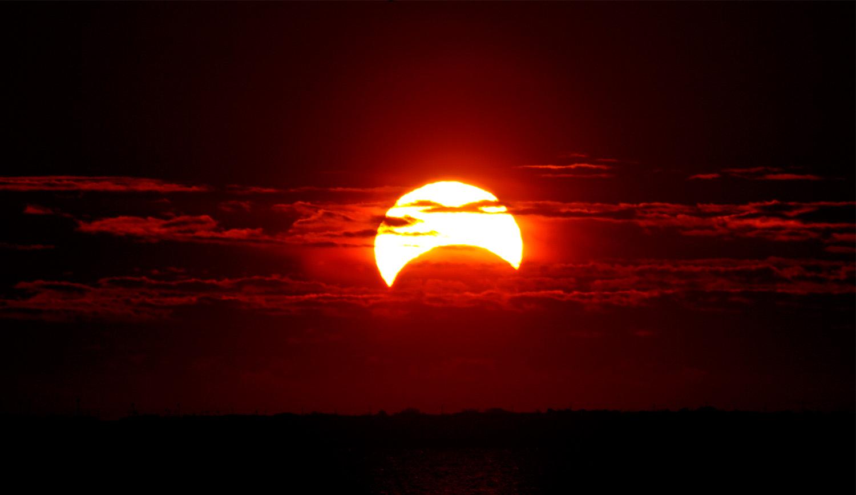 26 декабря жители Алтайского края смогут увидеть солнечное затмение
