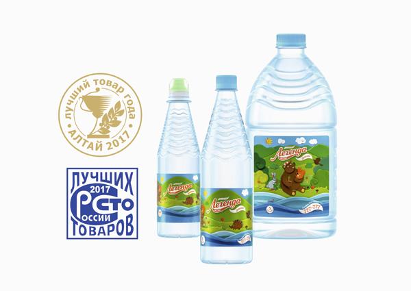 Алтайская вода стала Лучшим товаром России