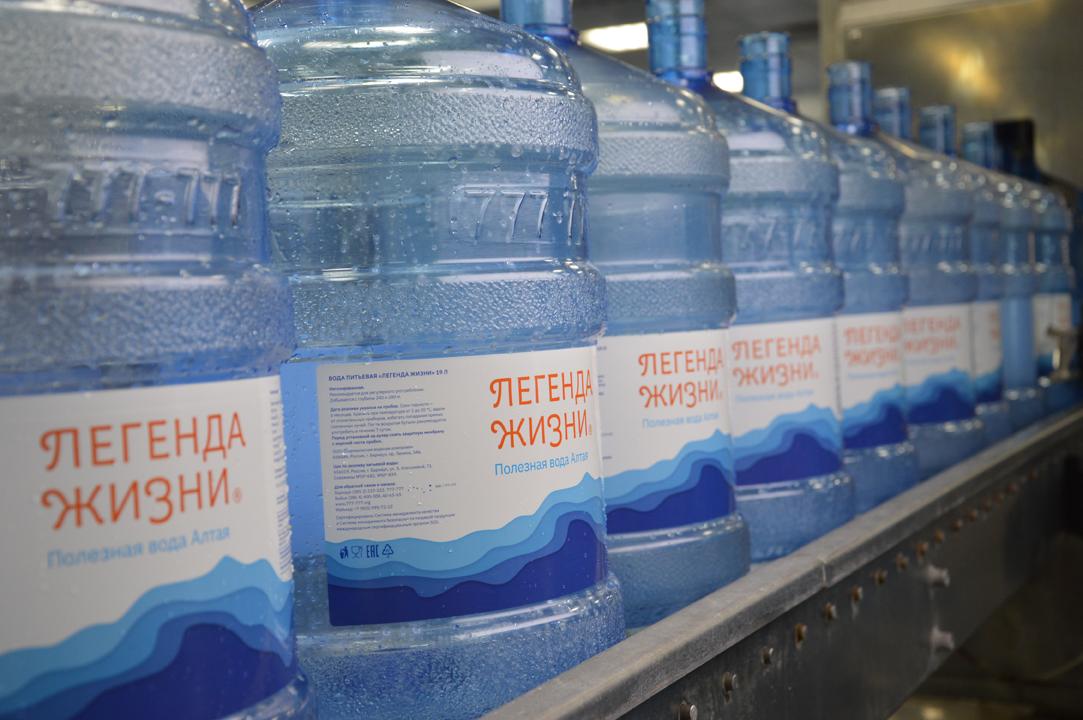 Как производят полезную воду Алтая