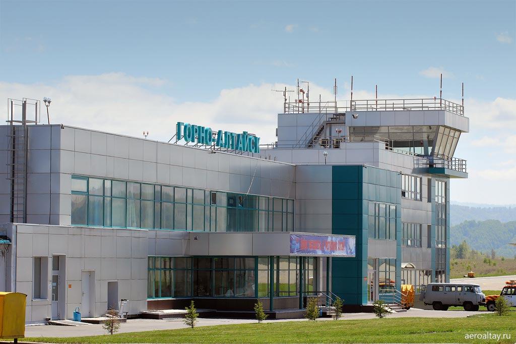 В аэропорту Горно-Алтайска построят международный терминал