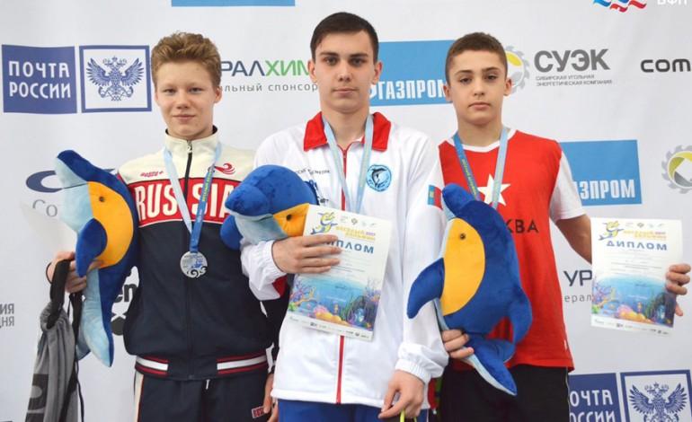 Илья Шилкин взял «бронзу» на первенстве России по плаванию