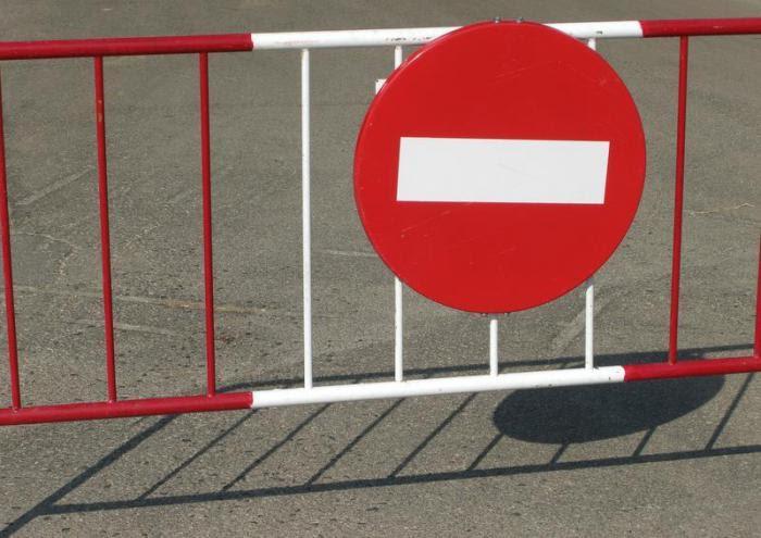 Перекрытие дорог в Бийске