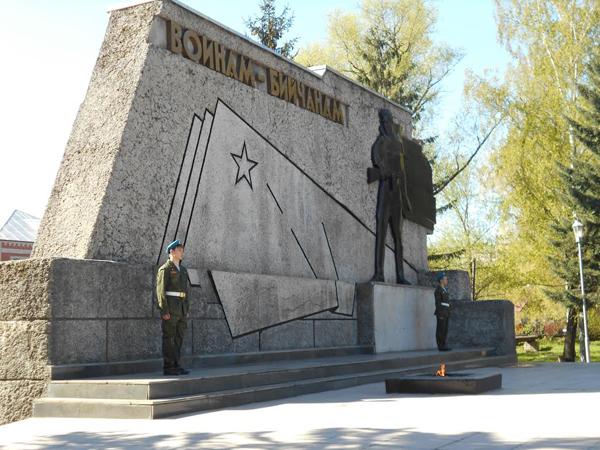15 февраля в честь 30-ой годовщины вывода Советских войск из Афганистана состоится праздничный салют