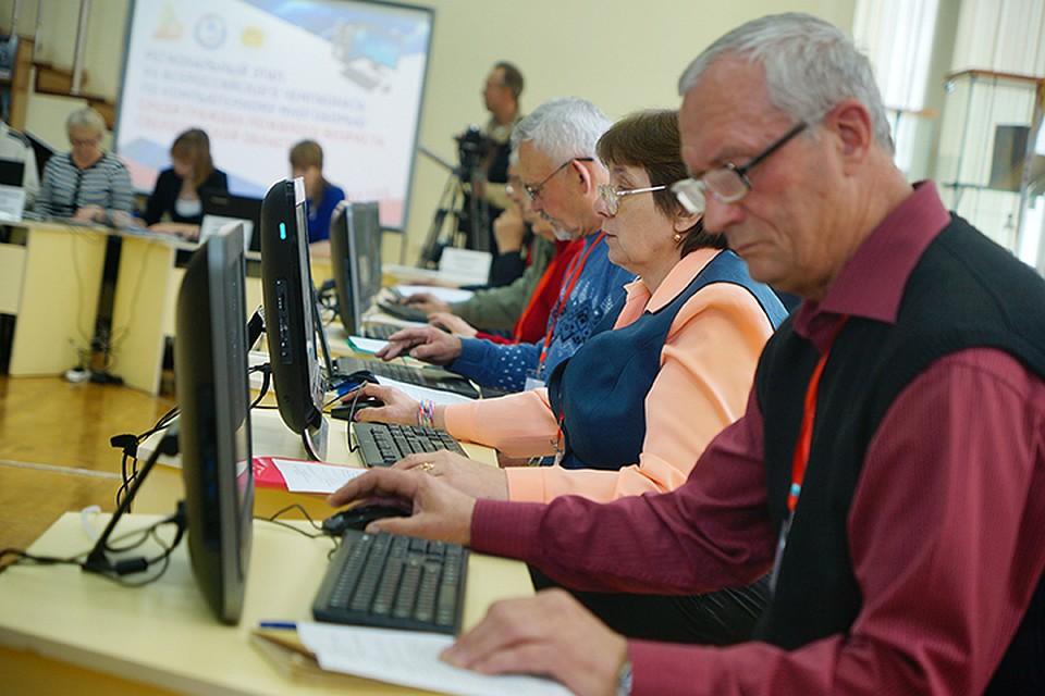 Более половины работающих пенсионеров трудятся в госкомпаниях