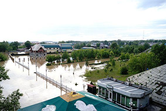 МЧС Росси по Республике Алтай: неблагоприятная обстановка по реке Бии