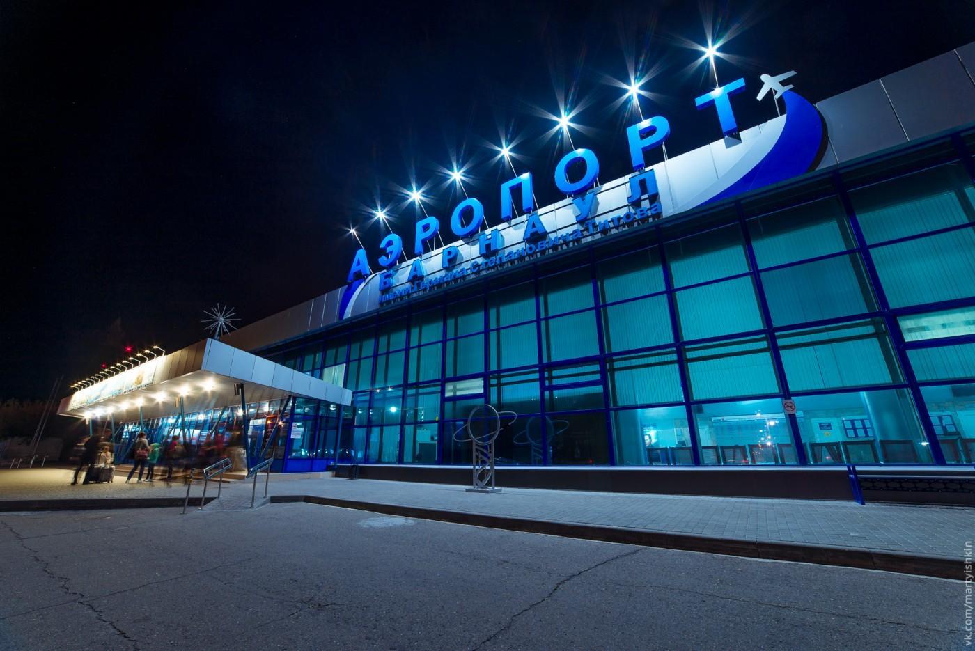 В аэропорту Барнаула теперь можно пройти на посадку по талону в смартфоне или планшете