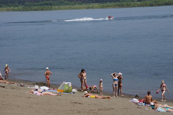 Открытие пляжных зон в Бийске намечено на 18 июня
