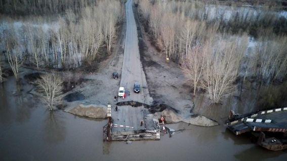 Паводковая ситуация в Бийске улучшается, вода в Бии идет на спад