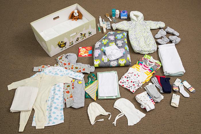 Мамы новорожденных будут получать при выписке из роддома «Подарочную коробку»