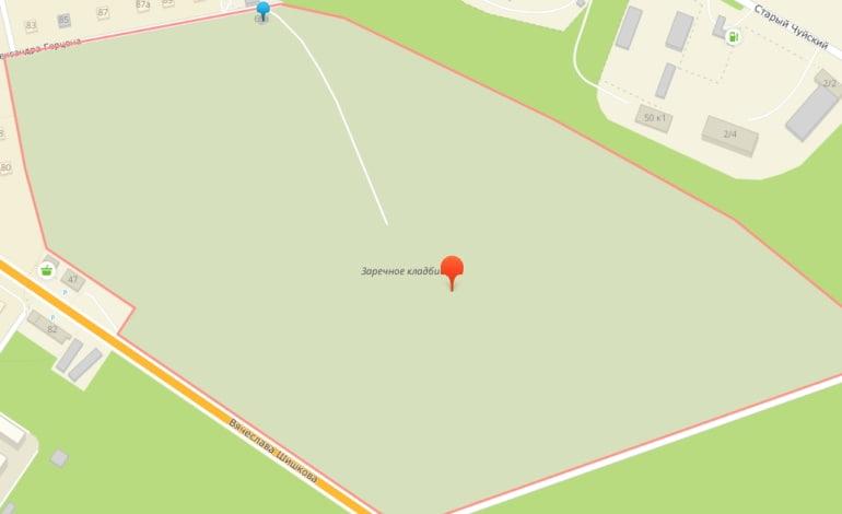 Администрация опровергла сообщения о планах расширить Заречное кладбище за счет городских лесов