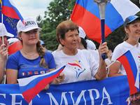 Бийск встретит участников Международной факельной эстафеты «Бег мира»