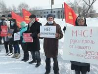 «Коммунисты России» провели «праздничный» пикет