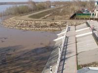 МЧС: Паводковая ситуация остается нестабильной