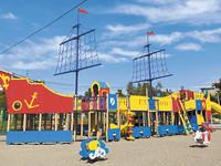 20 августа откроется детская площадка в парке Строителей