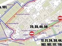 Как будет организовано транспортное движение 9 мая