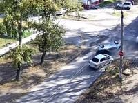 Столкновение с переворотом: Массовая автомобильная авария, есть пострадавшие