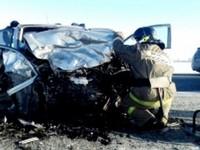 Страшная авария, произошедшая 1 февраля на Чуйском тракте, унесла жизни 3 человек