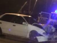 Из-за ДТП двух машин пострадал случайный пешеход