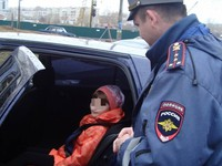 53 водителя Бийска заплатят штраф за нарушения правил перевозки детей