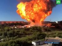 В Новосибирске произошел взрыв на АЗС