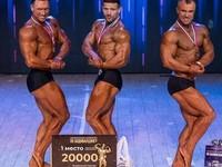 Золото и серебро завоевали бийчане на чемпионате края по бодибилдингу