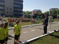 Сотрудники Госавтоинспекции организовали «Школу юного пешехода» в детском саду Бийска