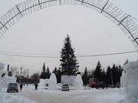 Для встречи Нового года — 2019 в Бийске впервые установят искусственную ель