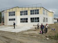 В районе Зеленого клина строится школа боевых искусств