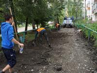 """1 октября завершается срок сдачи дворов, после ремонта по программе """"Комфортная городская среда"""""""