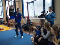 Благотворительный спортивный фестиваль «Открытые сердца» провели в «Заре»