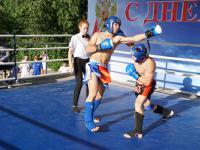 На летней площадке Дворца культуры БОЗ состоялся турнир среди кикбоксеров