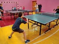 В Бийске прошел традиционный турнир по настольному теннису, посвященный Дню учителя