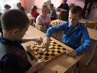 Состоялся первый этап розыгрыша Кубка города по русским шашкам