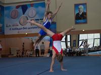Соревнования в честь Всероссийского дня гимнастики прошли в СК «Заря»