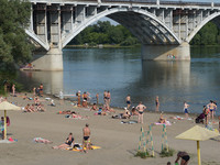 Администрация города напоминает о местах, опасных для купания